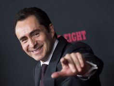 Co-star Demian Bichir attends the 'Hateful Eight' premiere in Hollywood, California, on December 7, 2015.   Valerie Macon, AFP/Getty Images