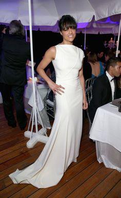 Pin for Later: Seht die Stars in ihren schönsten Roben beim Filmfest in Cannes Michelle Rodriguez