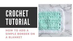 How to Change Yarn in Crochet - Easy Crochet Picot Crochet, Easy Crochet Stitches, Crochet Ripple, Quick Crochet, Crochet Basics, Crochet Geek, Free Crochet, Simple Crochet, Beginner Crochet