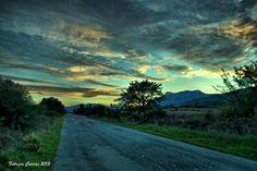 448  La strada verso il monte Albo, Siniscola, (Nuoro), Sardegna, foto di Fabrizio Corrias