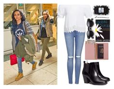 """Airport with Jade and Leigh-Anne"" by eduardacardoso1999 ❤ liked on Polyvore featuring Topshop, BOBBY, Royce Leather, H&M, Boohoo, littlemix, jadethirlwall and leighanne"