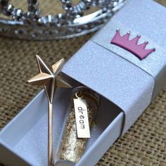 dream dust message box. perfect for a princess themed birthday.