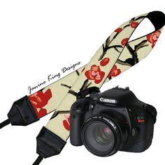Camera Neck Shoulder Strap for Women DSLR by janinekingdesigns, $24.99