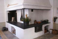 Swedish Kitchen, Country Kitchen, Japanese Interior Design, Vintage Interiors, Farmhouse Homes, Barbacoa, Beautiful Space, Kitchen Interior, My Dream Home