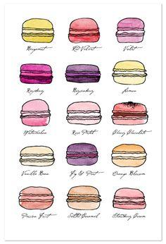 Macarons! Life is Sweet by Studio Blixa 6 @Kelsey Tennyson