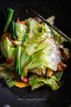 Pork and Cabbage Stir Fry | China Sichuan Food Pork Recipes, Asian Recipes, Chicken Recipes, Cooking Recipes, Healthy Recipes, Healthy Meals, Best Filipino Recipes, Easy Japanese Recipes, Croatian Recipes