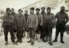 Captain Robert Falcon Scott and eight other expedition members at camp in the Ross Dependency of Antarctica, during Scott's Terra Nova Expedition to the Antarctic, April They have just returned. Get premium, high resolution news photos at Getty Images Robert Falcon Scott, Robert Scott, Team Pictures, Rare Pictures, National Geographic, Captain Scott, Roald Amundsen, Arctic Explorers, Explorers Unit