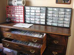 bead storage metals etc
