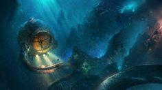 ArtStation - The little mermaid, Tysen Johnson