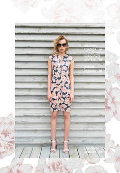 Elegancka sukienka w kwiaty #topsecret