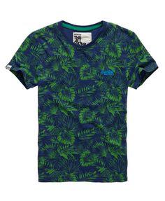 Superdry - T-shirt Surf California - T-shirts pour Homme
