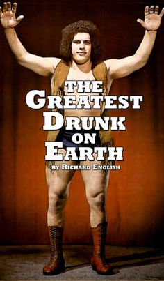I miss Andre the Giant. Believe it or not I grew up watching his matches, and I loved him. This made me grin.