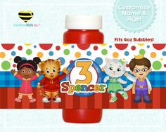 Daniel Tiger S Neighborhood Birthday Party Gumball Vase