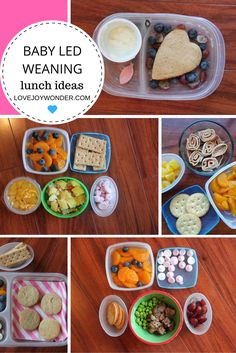 LoveJoyWonder.com - Baby Led Weaning and Toddler Montessori Packed Lunches Meal Ideas and Inspiration