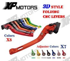 CNC 3D Feel Foldable Brake Clutch Lever For Yamaha TDM900 2002 2003 TDM 900 02 03 NEW #Affiliate