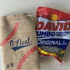 Baseball Sunflower Seeds Bag, Personalized Sunflower Seed Bag, Team Party, Baseball Gift, Baseball P Baseball Snacks, Baseball Coach Gifts, Baseball Crafts, Baseball Pitching, Baseball Boys, Reds Baseball, Baseball Season, Baseball Players, Baseball Stuff