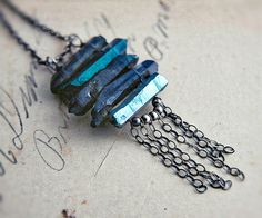 Hey, I found this really awesome Etsy listing at https://www.etsy.com/listing/96129161/shard-totem-statement-bib-necklace