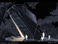 Conceptual de iluminación para la Capilla del Atardecer / Noriegga Iluminadores Arquitectónicos Diseño Arquitectónico de BNKR Arquitectura. Acapulco, Guerrero, México.