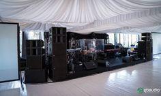D&B Sound system at Castello di Vincigliata