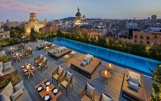 The best Barcelona hotels with rooftop bars