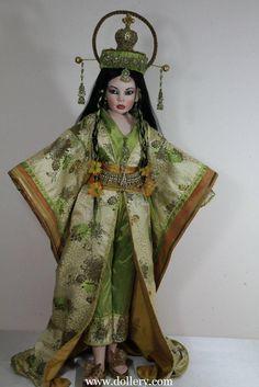 """""""Chinese Opera Princess"""" by Sylvia Weser"""