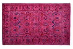 Eloten Rug, Hot Pink - Rugs for Small Spaces - Week 21 - Sales Events | One Kings Lane