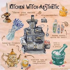 Witch Spell Book, Witchcraft Spell Books, Wiccan Spells, Magick, Hedge Witchcraft, Magic Spells, Witch Aesthetic, Aesthetic Painting, Aesthetic Outfit