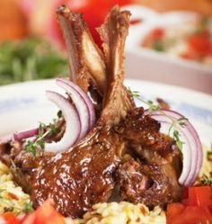 Salty Wahine's Mango Java Lamb Chops Try Salty Wahine's mango java rub on lamb chops or your favorite meat topped with a mango java sauce and you are ready to feast!