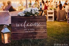 Welcome sign at a Nantucket Wedding at 124 Tom Nevers by Zofia and Co. #weddingwelcome #nantucket #nantucketweddings