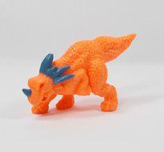 Monster In My Pocket - Series 6 Dinosaurs - 161 Styracosaurus - Secret Skeleton