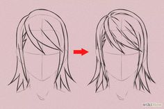 Imagen titulada Draw Anime Hair Step 12