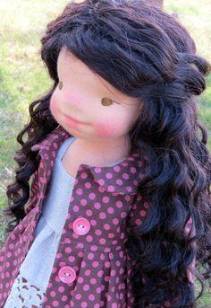 Waldorf Puppe Tara  18'' Waldorf inspirierte Puppen