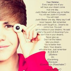 Pass this on 💙 beliebers, stay strong I love you guys 💙 Justin Bieber Quotes, Justin Bieber Facts, All About Justin Bieber, I Love Him, My Love, Just Dream, Dream Big, To My Future Husband, My Boyfriend