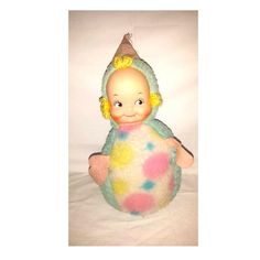 Vintage KnickerBocker Roly Poly Plush,Roly Chime Doll,Rubber Face Baby,Plushie,Dimples Plushie Doll,Plushie,Soft Body Doll,Shelfie, 1950s by JunkYardBlonde on Etsy