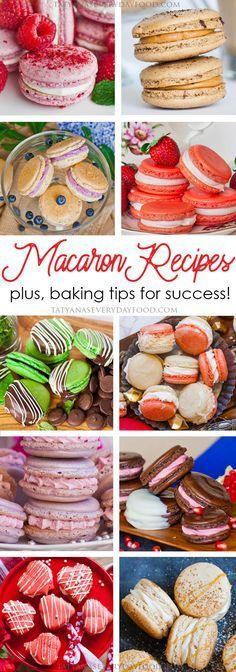 A collection of my favorite French macaron recipes, all in one spot! Chocolate macarons, fruity macarons, unique macarons and of course, caramel coffee macarons! Best Macaron Recipe, Macaroon Recipes, Christmas Macaron Recipe, Macaroon Filling, Macaroon Cookies, Mini Desserts, Just Desserts, Plated Desserts, Baking Recipes