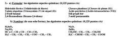 Ejercicio 3, Propuesta 2, Setiembre 2006-2007. PAU Química de Canarias.