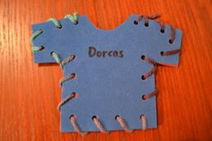 Bible Class Creations: Dorcas (or could make in purple for Lydia)