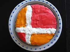 smash bros cake - Not this one, but the general idea