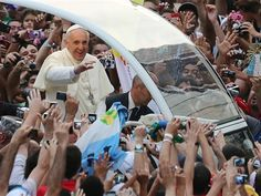 Pope Francis visits Brazil