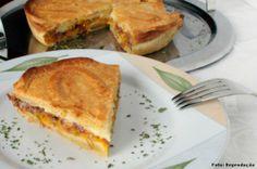 Receitas salgadas - Como fazer Torta de Mandioquinha e Carne Seca  #culinária #receitas #gastronomia #cursoscpt #alcanceosucesso