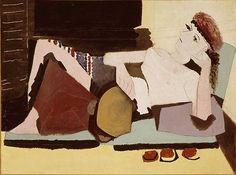 Femme au tambourin Pablo PICASSO (1881-1973) 1925 huile sur toile RF 1963-73 © Succession Picasso, 2006 / #art