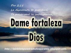 La Biblia La Palabra De Dios Para Hoy: Santa Biblia Dios habla hoy-Proverbios 2:11