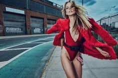 Red-Hot Anne Vyalitsyna for Vogue Portugal October 2016 by An Le | Fashnberry