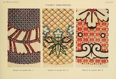 Colbert embroideries