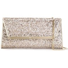 Jimmy Choo 'Margot' clutch ($570) ❤ liked on Polyvore featuring bags, handbags, clutches, pink clutches, genuine leather purse, jimmy choo clutches, pink leather handbag and real leather handbags