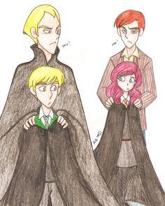 Odios En Hogwarts by Minos336.deviantart.com on @DeviantArt