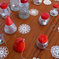 Fleurs de sel - by Anu Tuominen Artist Names, Textile Art, Doilies, Crochet, Make Me Smile, Fiber Art, It Works, Arts And Crafts, Felt