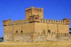 Castillo del Duque de Montellano, Narros de Saldueña (Avila)