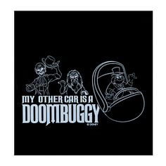 my other car is a doom buggy decal   ... hearse play let the mortal world know my other car is a doombuggy with
