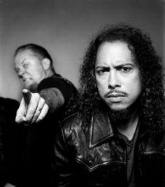 Kirk Hammett | James Hetfield....two of my favorite guitarist